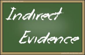 Indirect Evidence Chaulkboard
